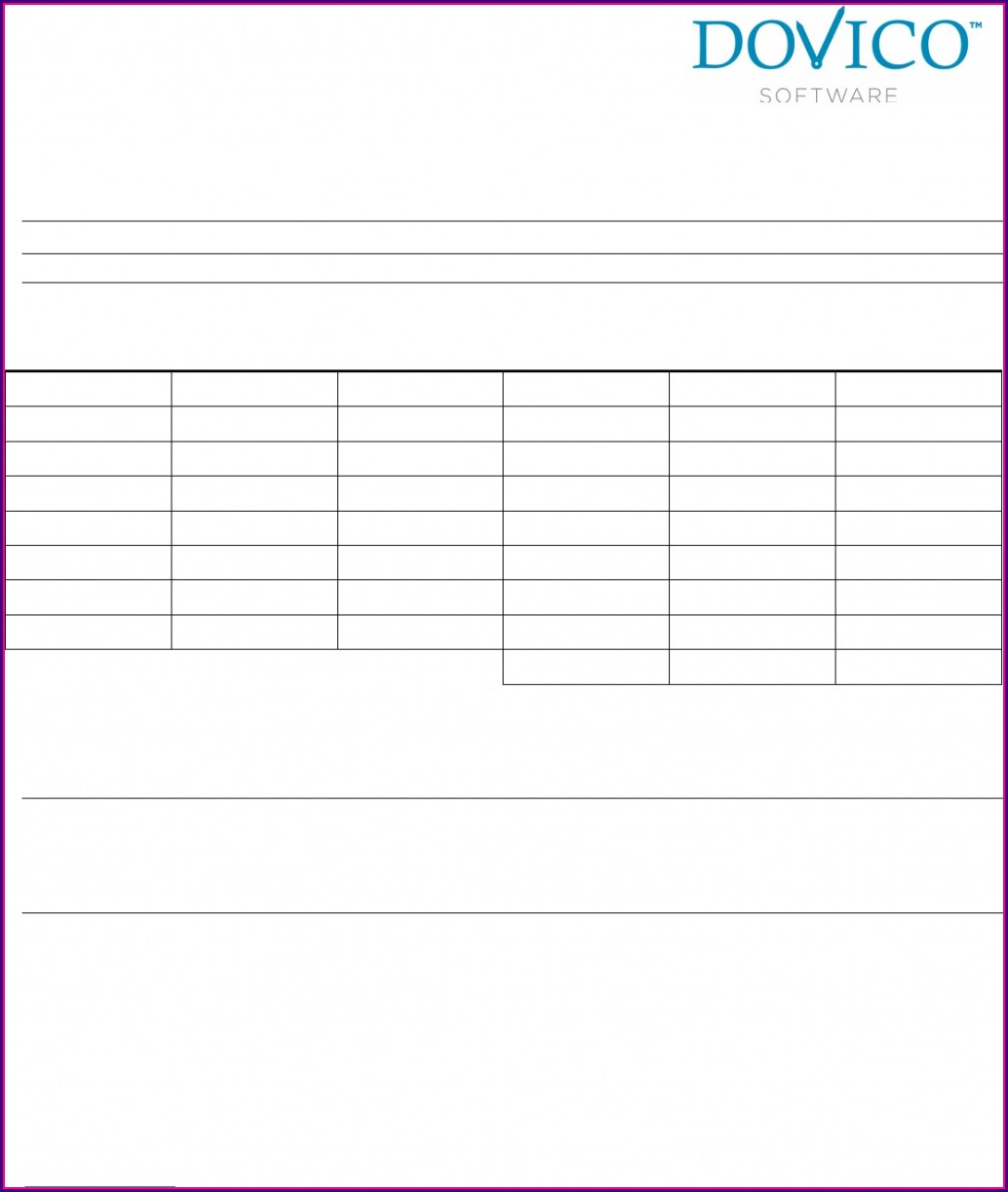 Free Monthly Timesheet Template Word