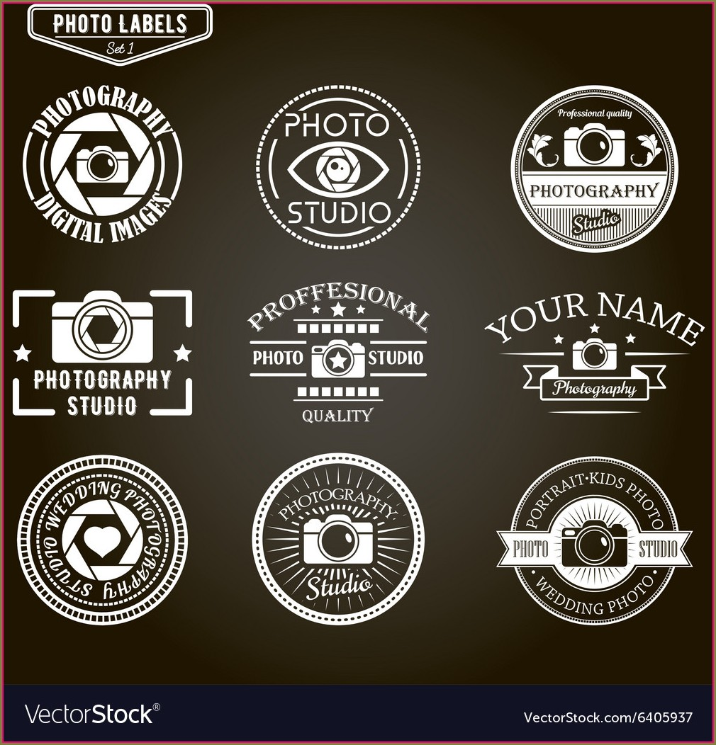 Free Photography Logo Templates