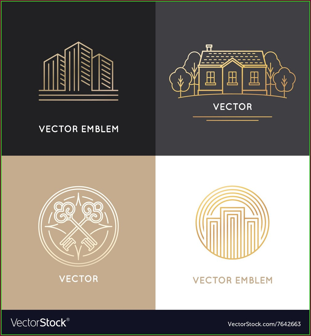 Free Real Estate Logo Design Templates