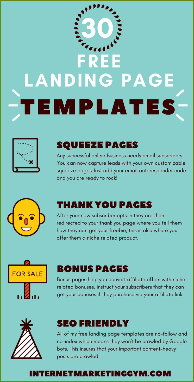 Free Squeeze Page Templates