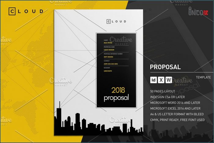 Free Website Proposal Template Word Download