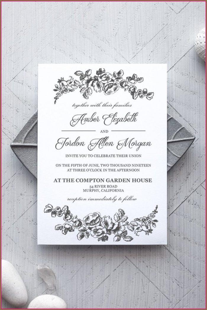 Free Wedding Anniversary Invitation Templates Microsoft Word