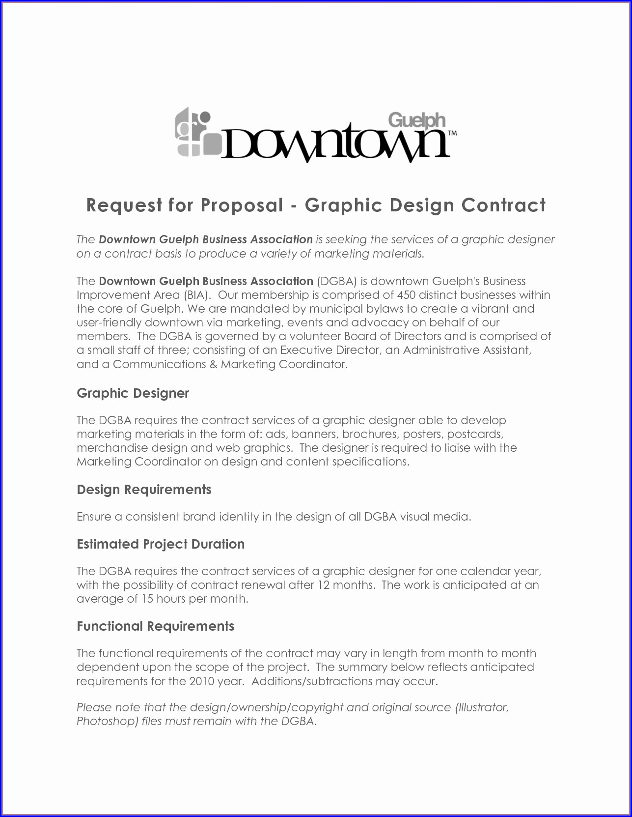 Freelance Graphic Design Contract Template Pdf Uk
