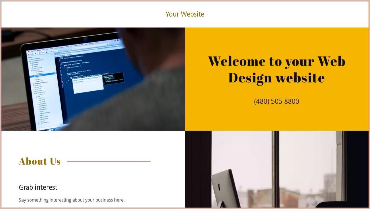 Godaddy Web Templates