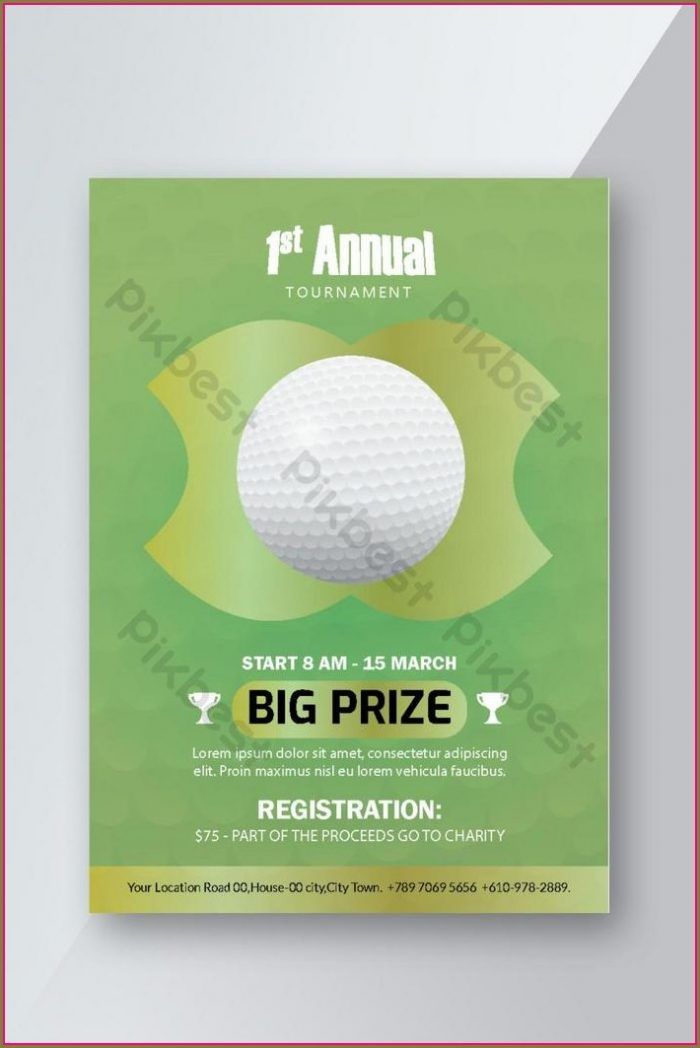Golf Flyer Template Free Download