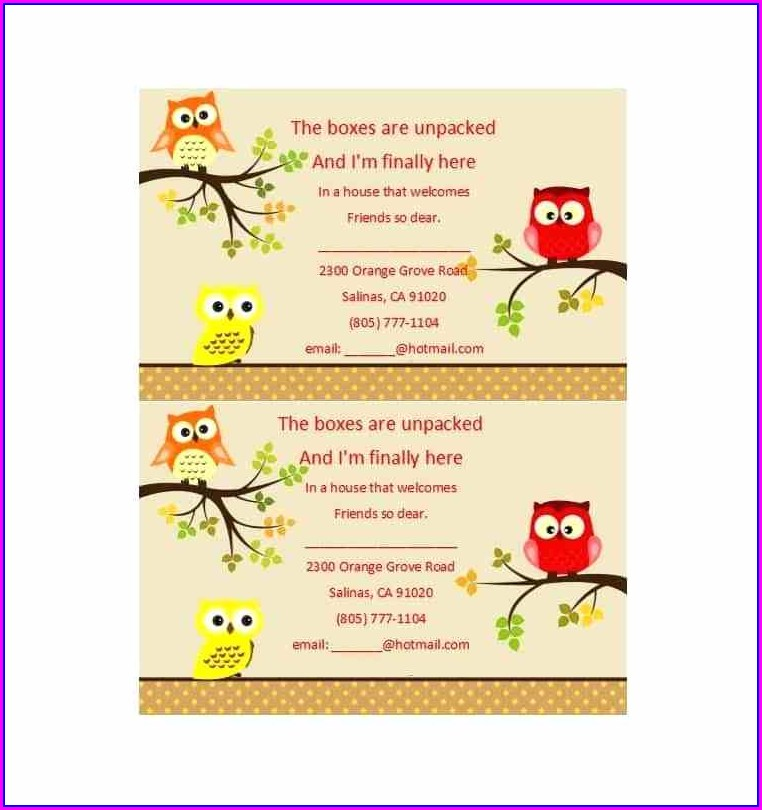 House Warming Ceremony Invitation Templates Free