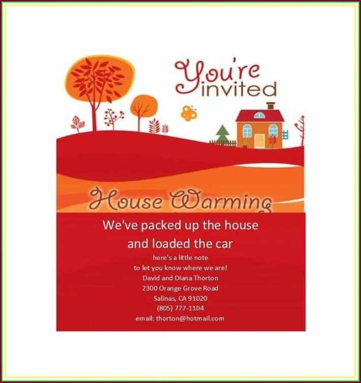 Housewarming Invitation Template Tamil