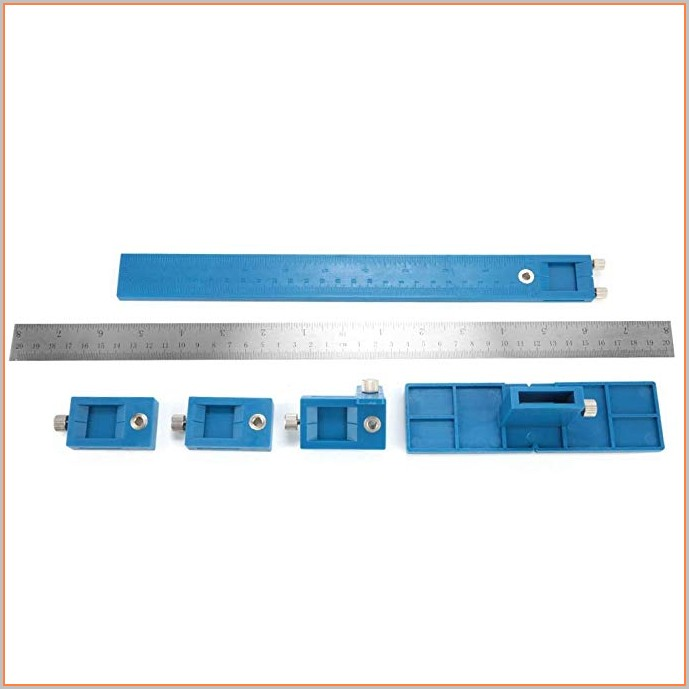 Installing Cabinet Hardware Template