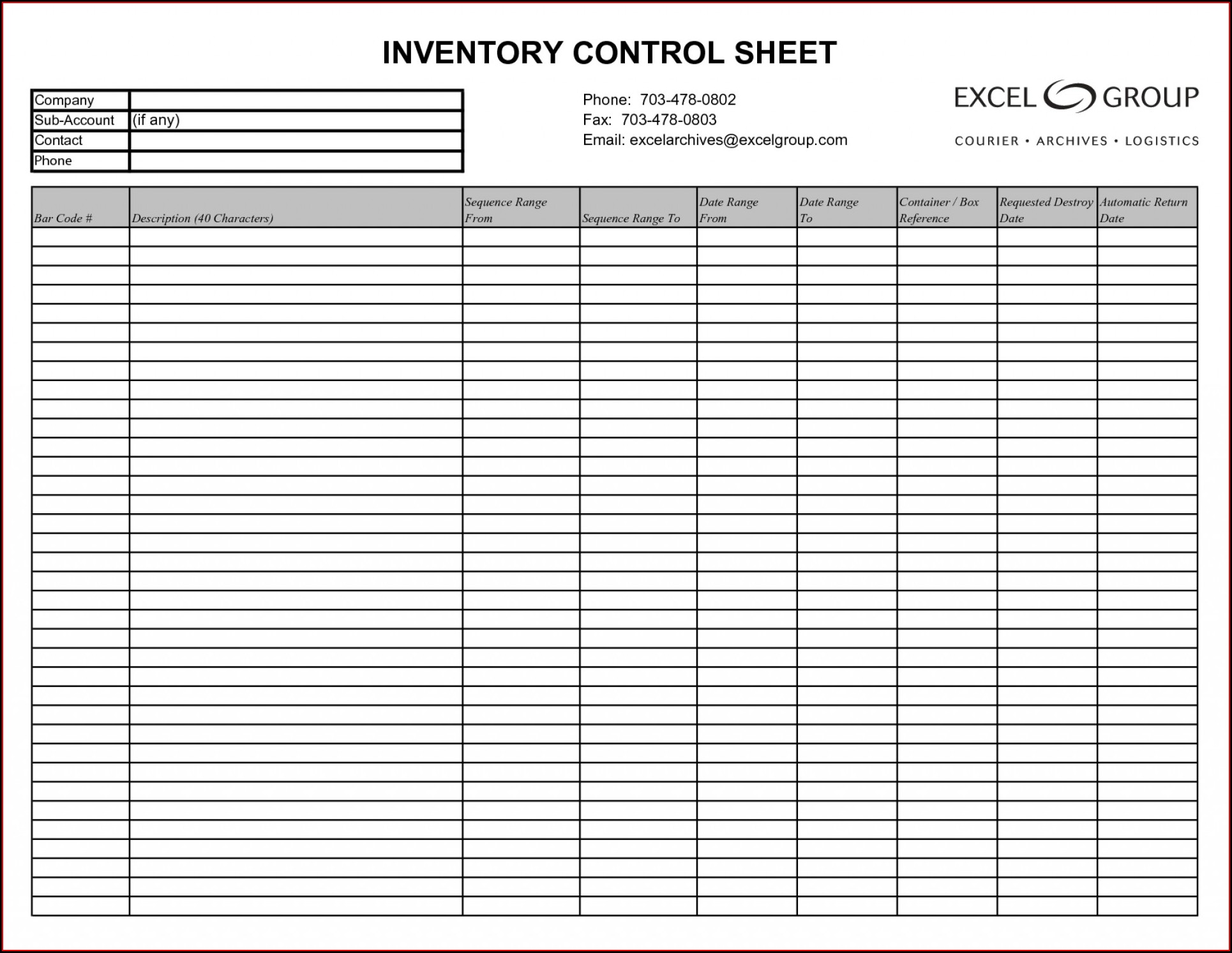 Inventory Management Inventory Spreadsheet Template Excel Product Tracking