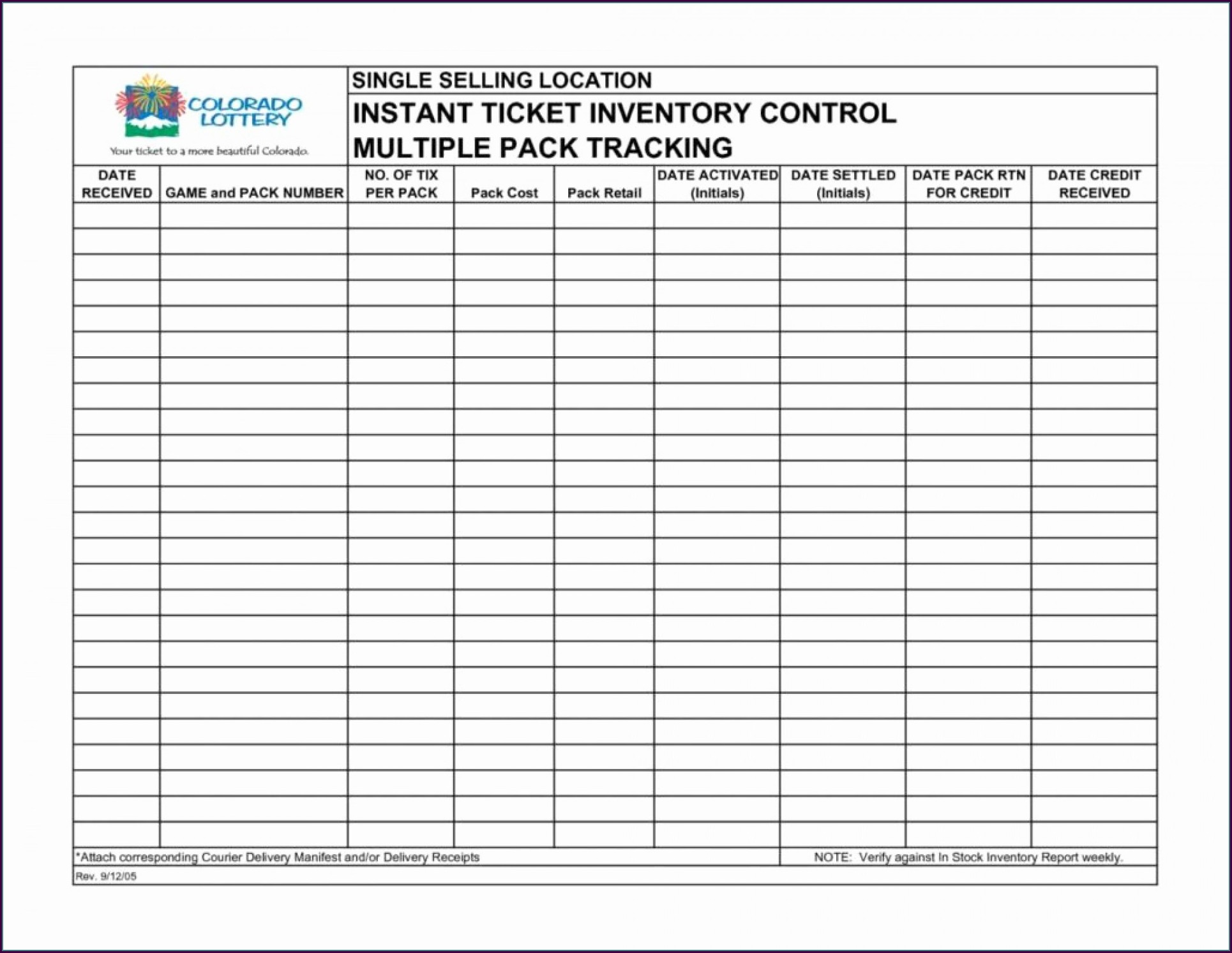 Inventory Tracking Inventory Sheet Template