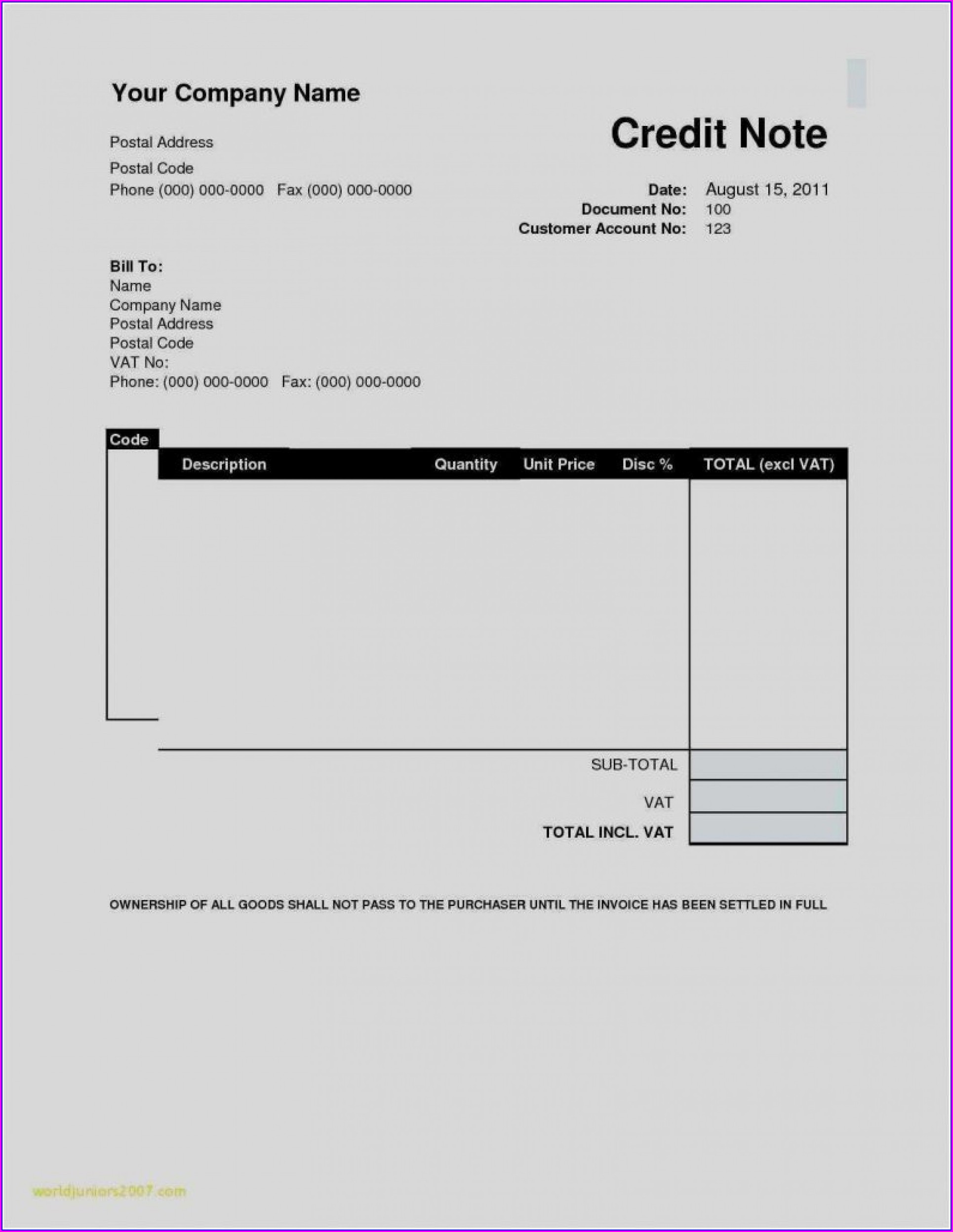 Invoice Form Simple Invoice Template Word Free