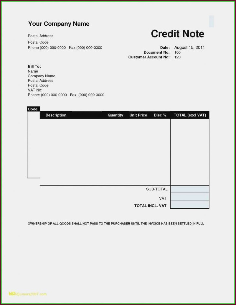 Invoice Template For Consulting Services