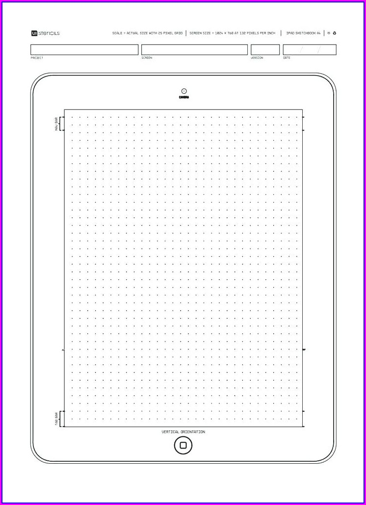 Iphone App Wireframe Template