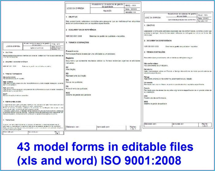 Iso 9001 Templates Free Word