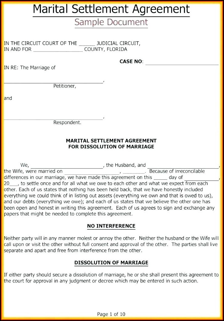 Joint Last Will And Testament Template South Africa