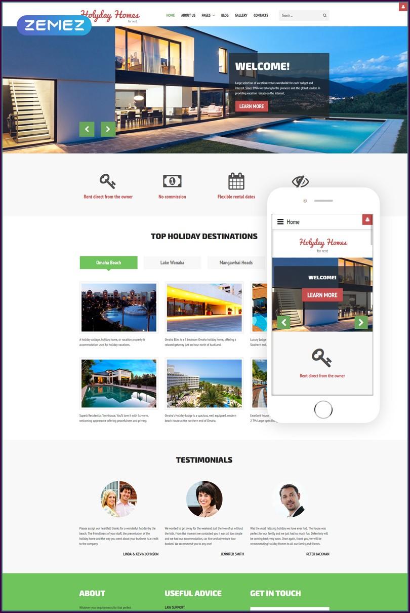 Joomla Real Estate Template