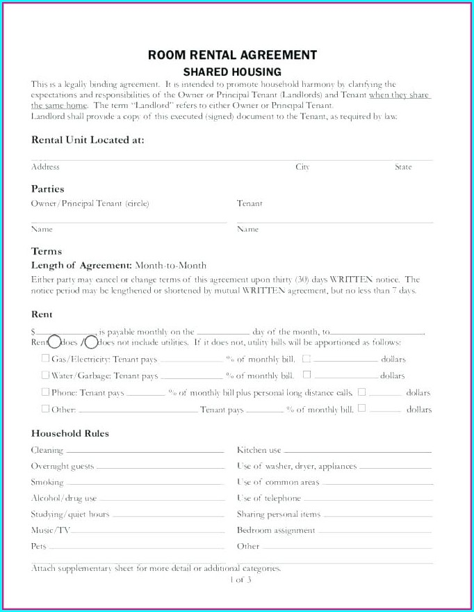 Landlord Agreement Template Uk
