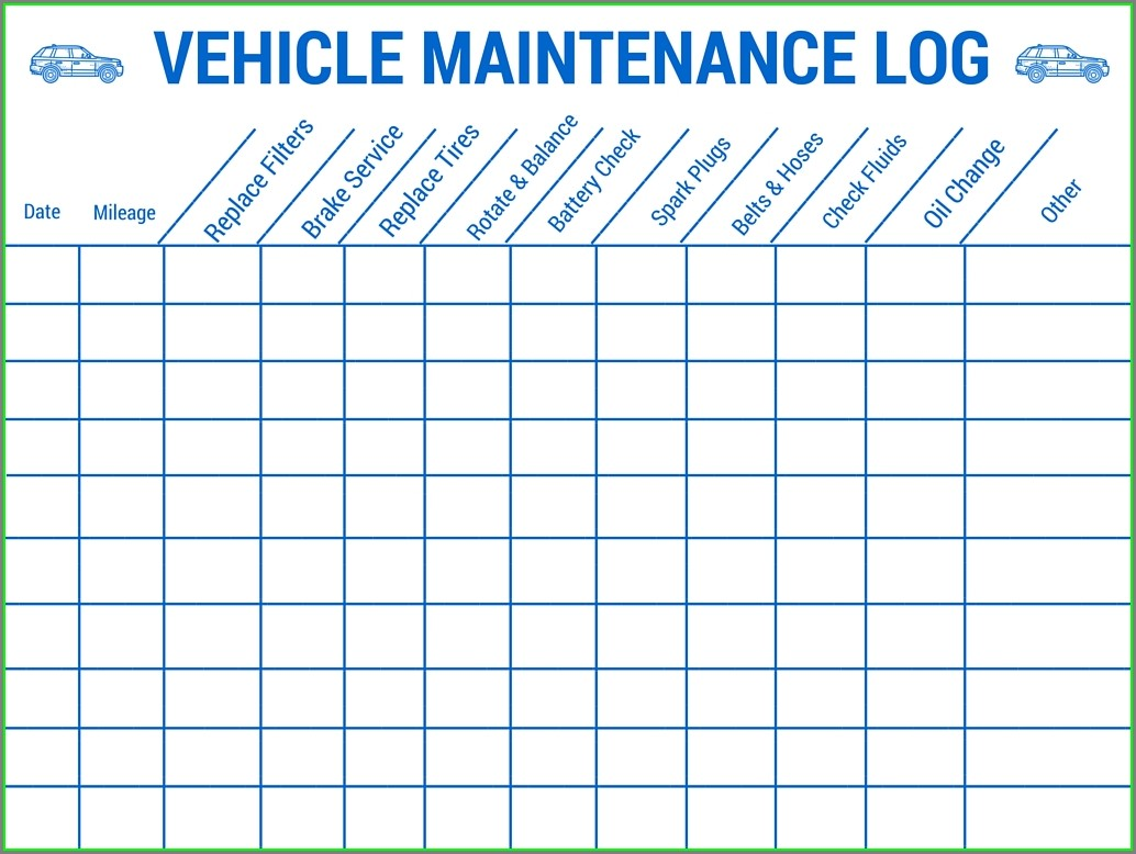 Maintenance Schedule Preventive Maintenance Template Excel Download