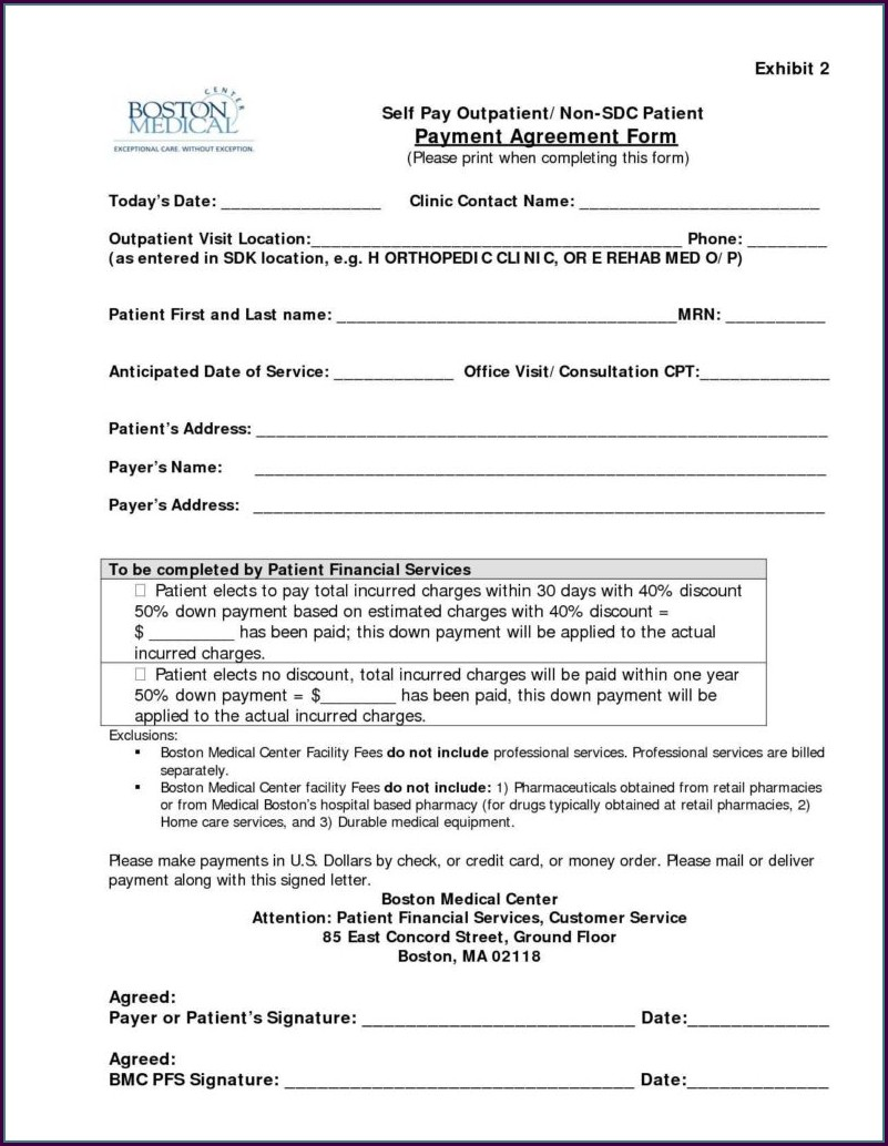 Medical Billing Contract Template
