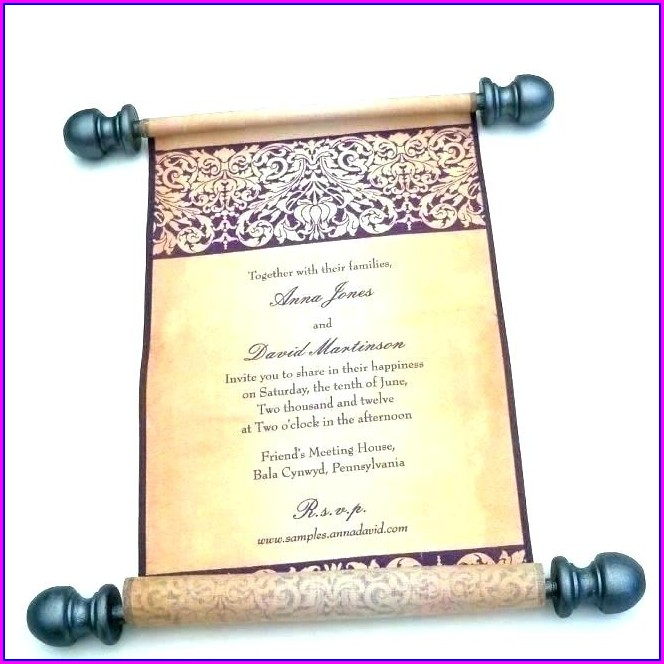 Medieval Times Invitation Template