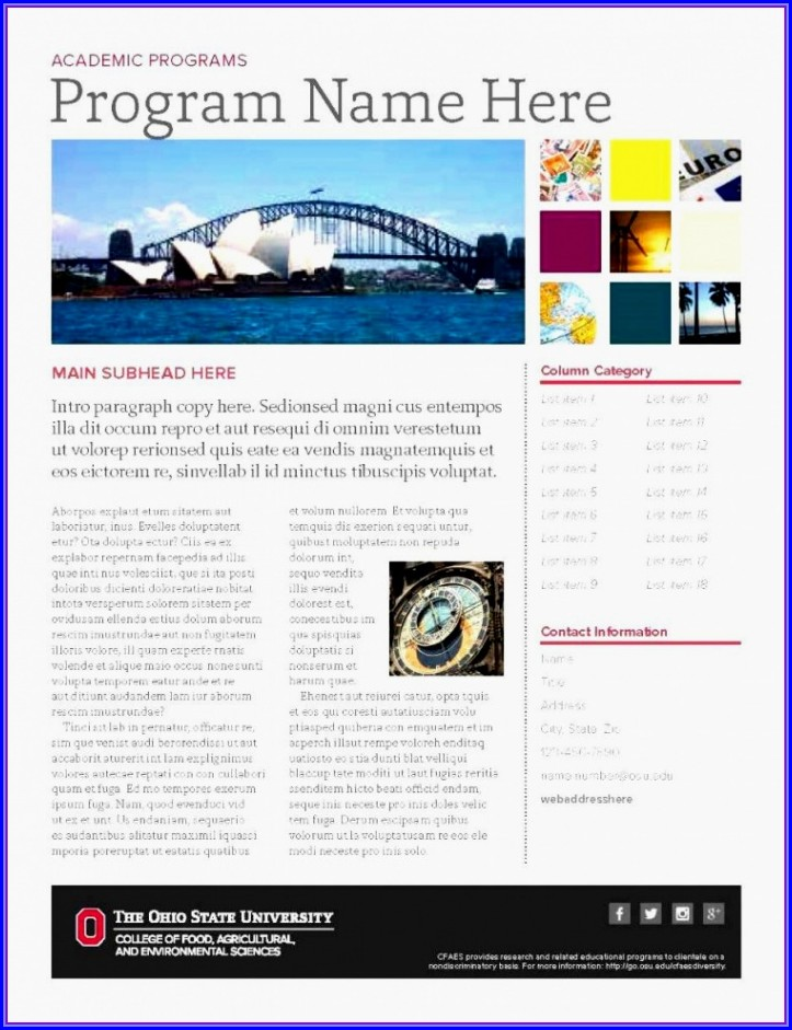 Ms Publisher Newsletter Templates Free Download