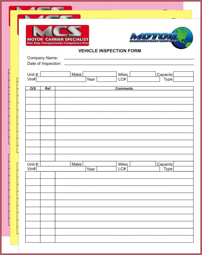 Ncr Forms Templates