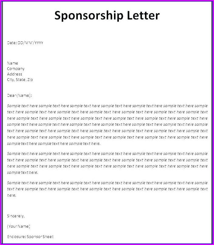 Non Profit Sponsorship Proposal Template Free