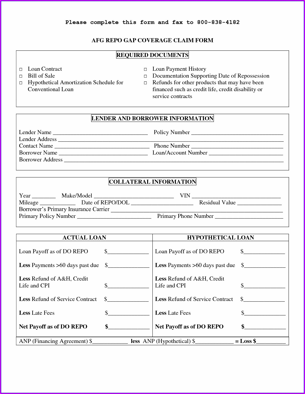 Pdf Simple Personal Loan Agreement Template