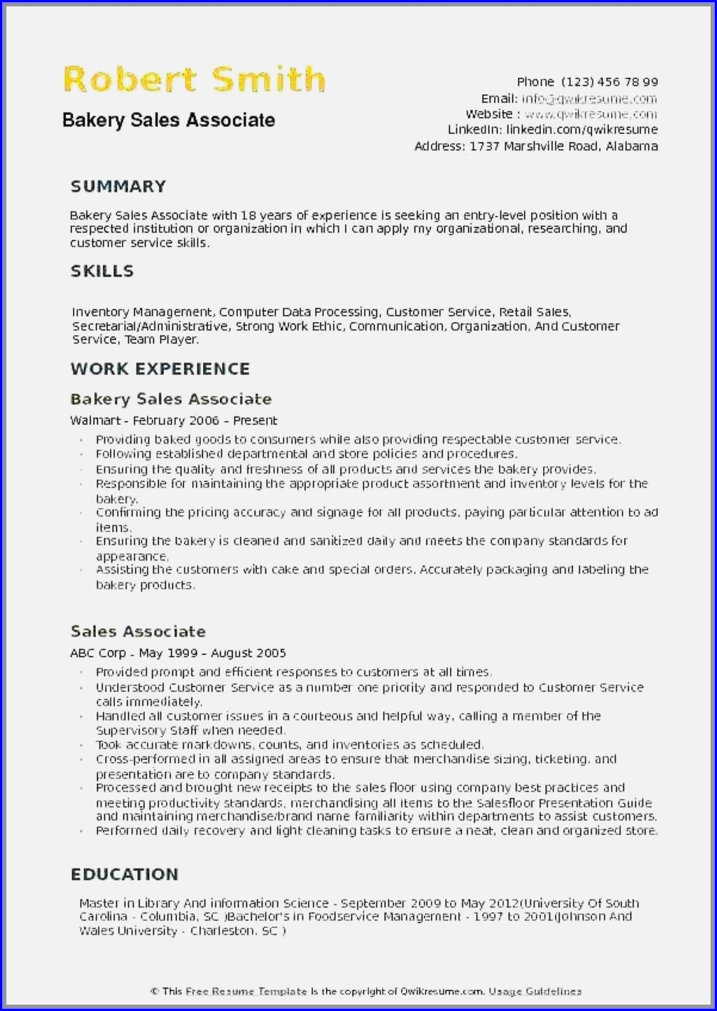 Pharmaceutical Sales Resume Template