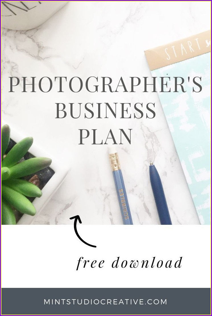 Photography Business Plan Template Free