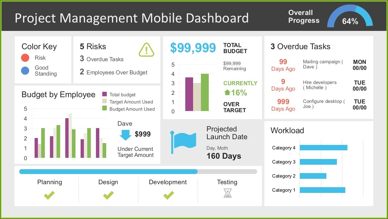 Pmo Dashboard Template