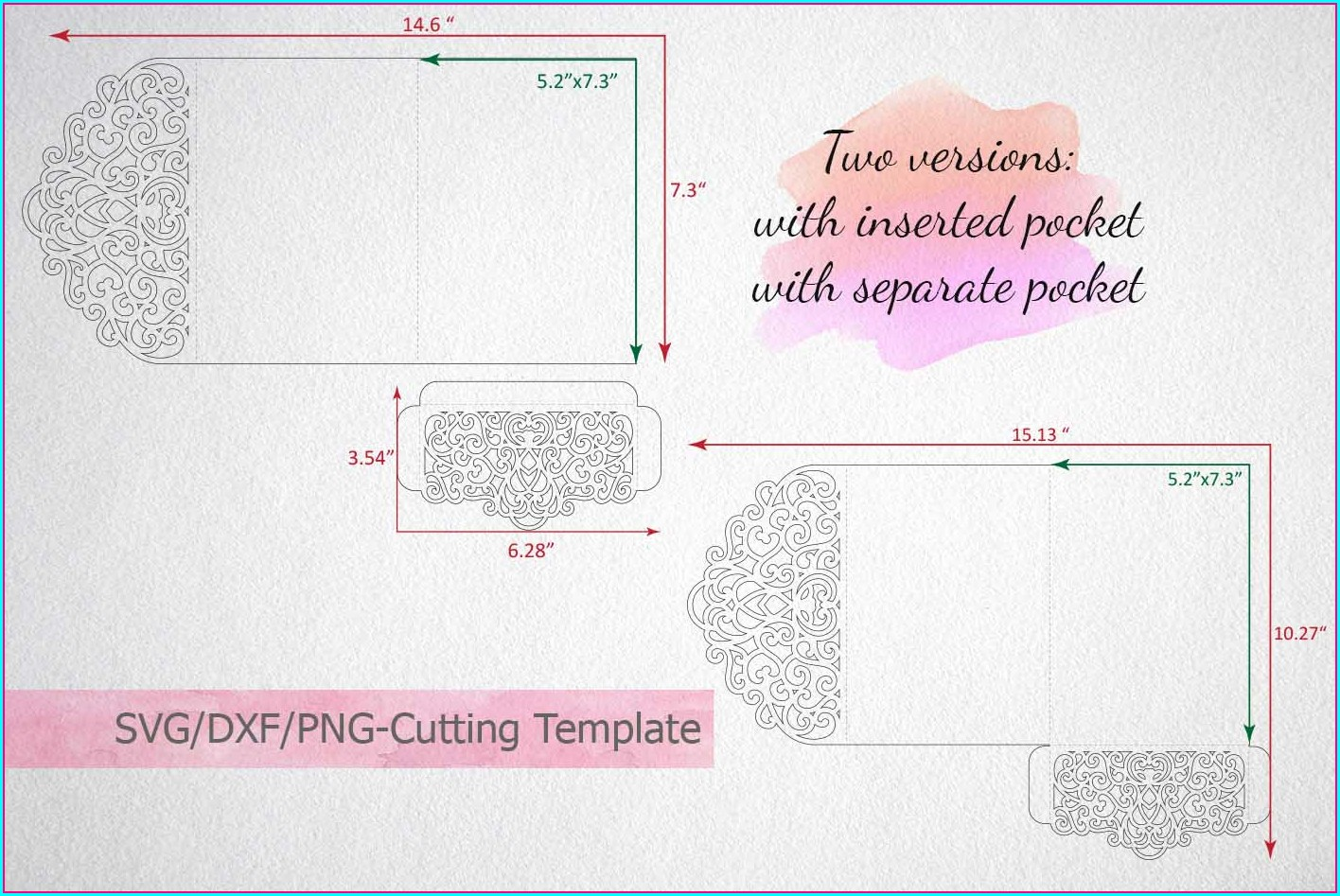 Pocket Envelope Template