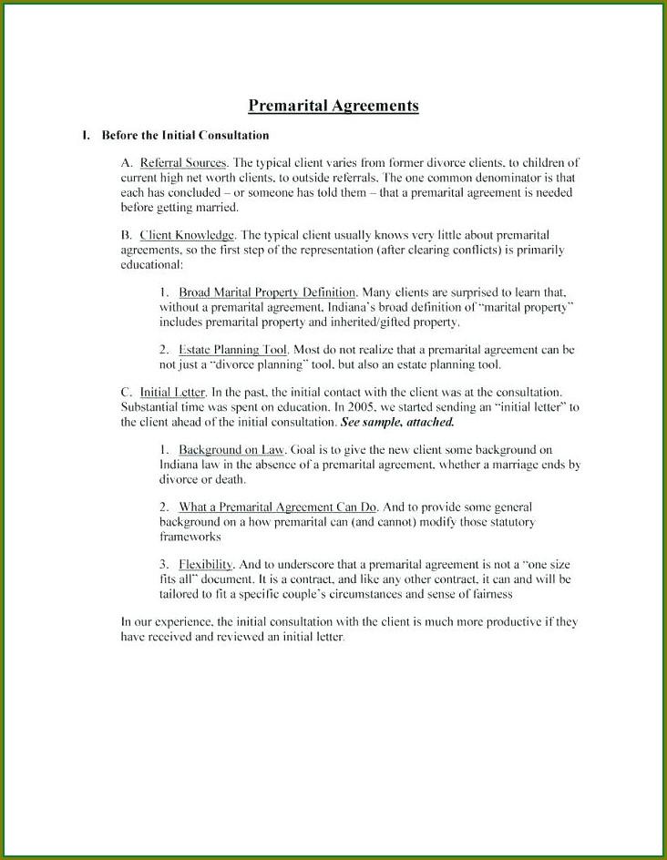 Prenup Agreement Template Uk