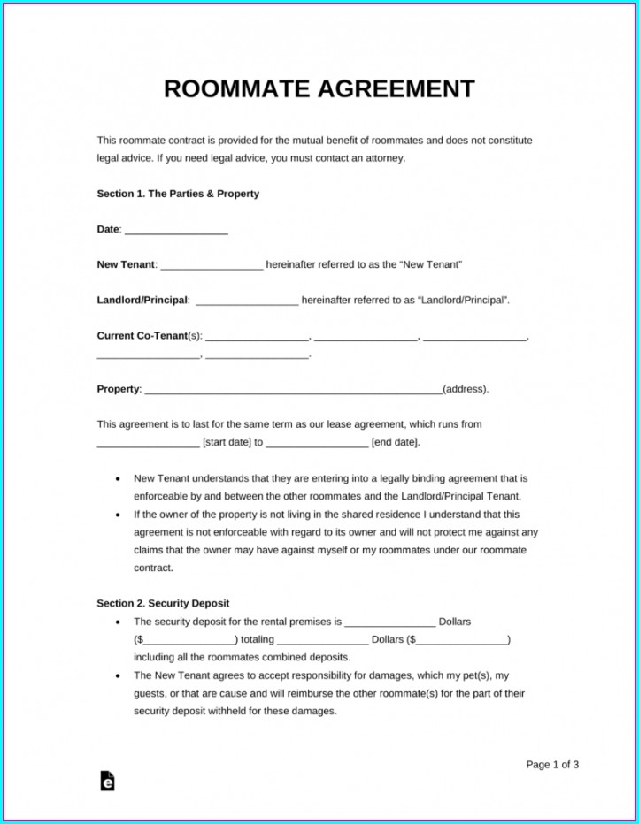 Printable Rental Agreement Template Pdf