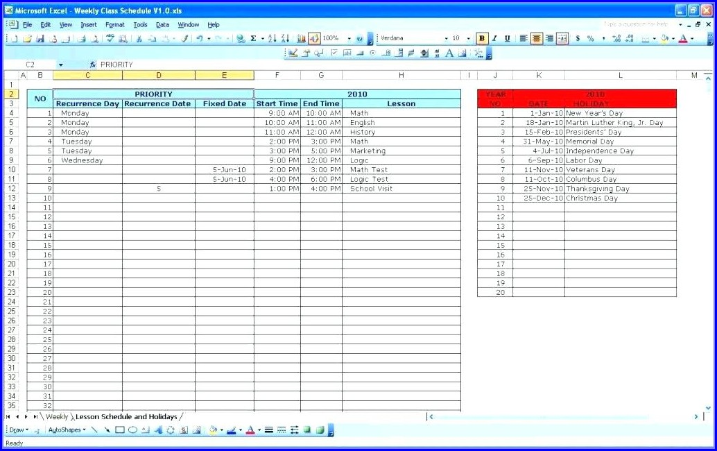 Project Management Excel Spreadsheet Lessons Learned Template