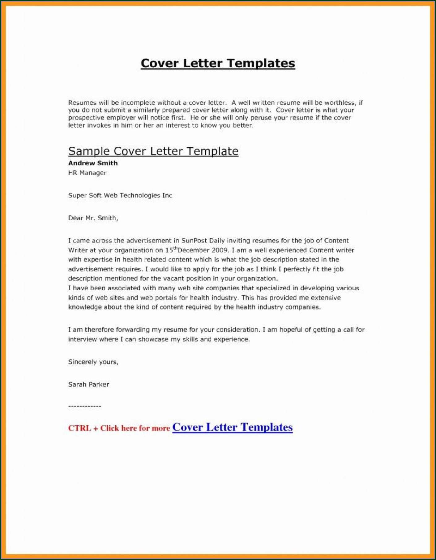 Prospecting Real Estate Letter Templates