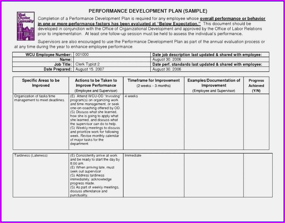 Quality Assurance Plan Template Free