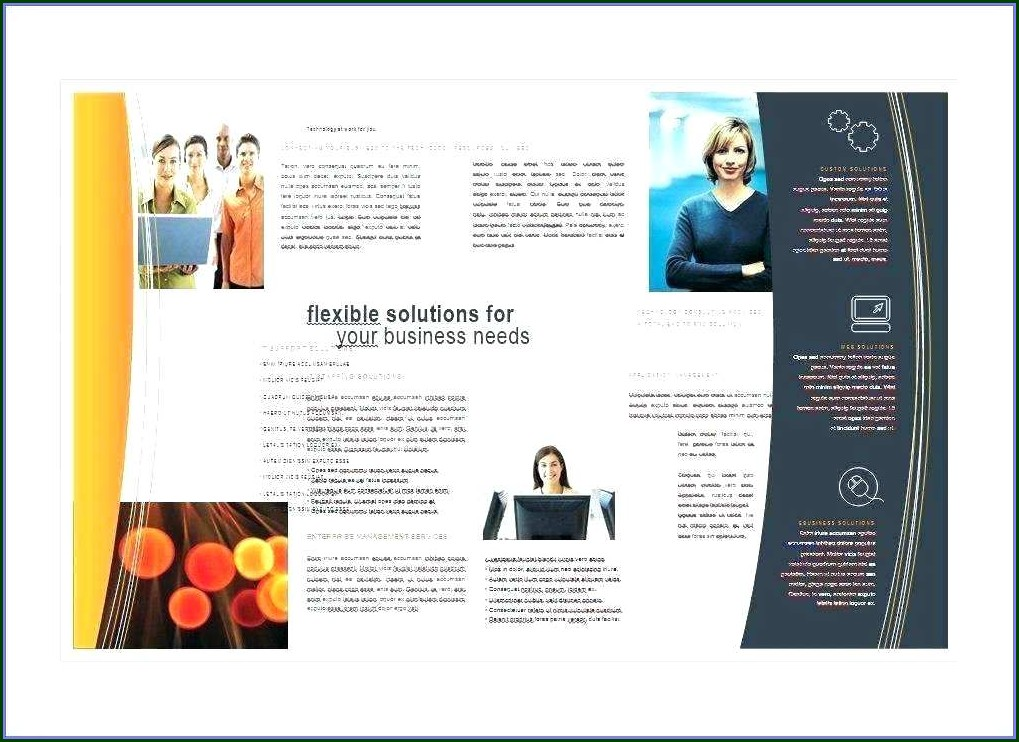 Sales Brochure Template Word