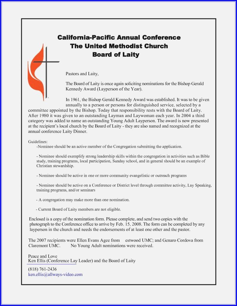 Sample Church Invitation Templates