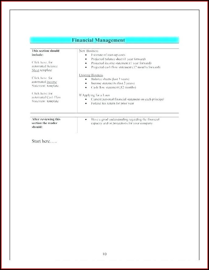 Small Business Free Profit And Loss Template For Self Employed