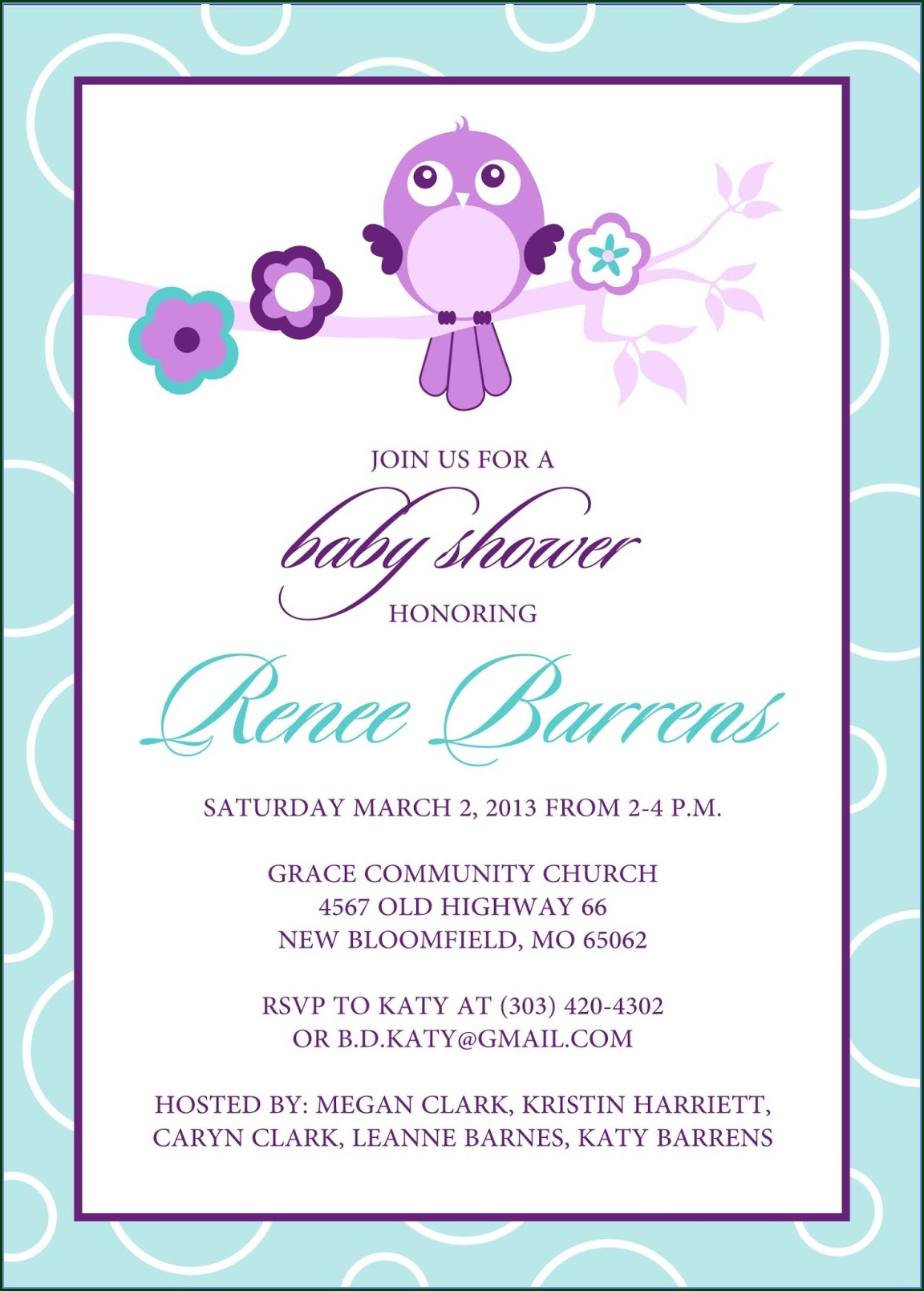 Template Baby Shower Invitations In Spanish