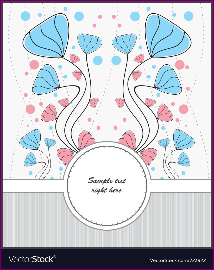 Template For Postcards Free
