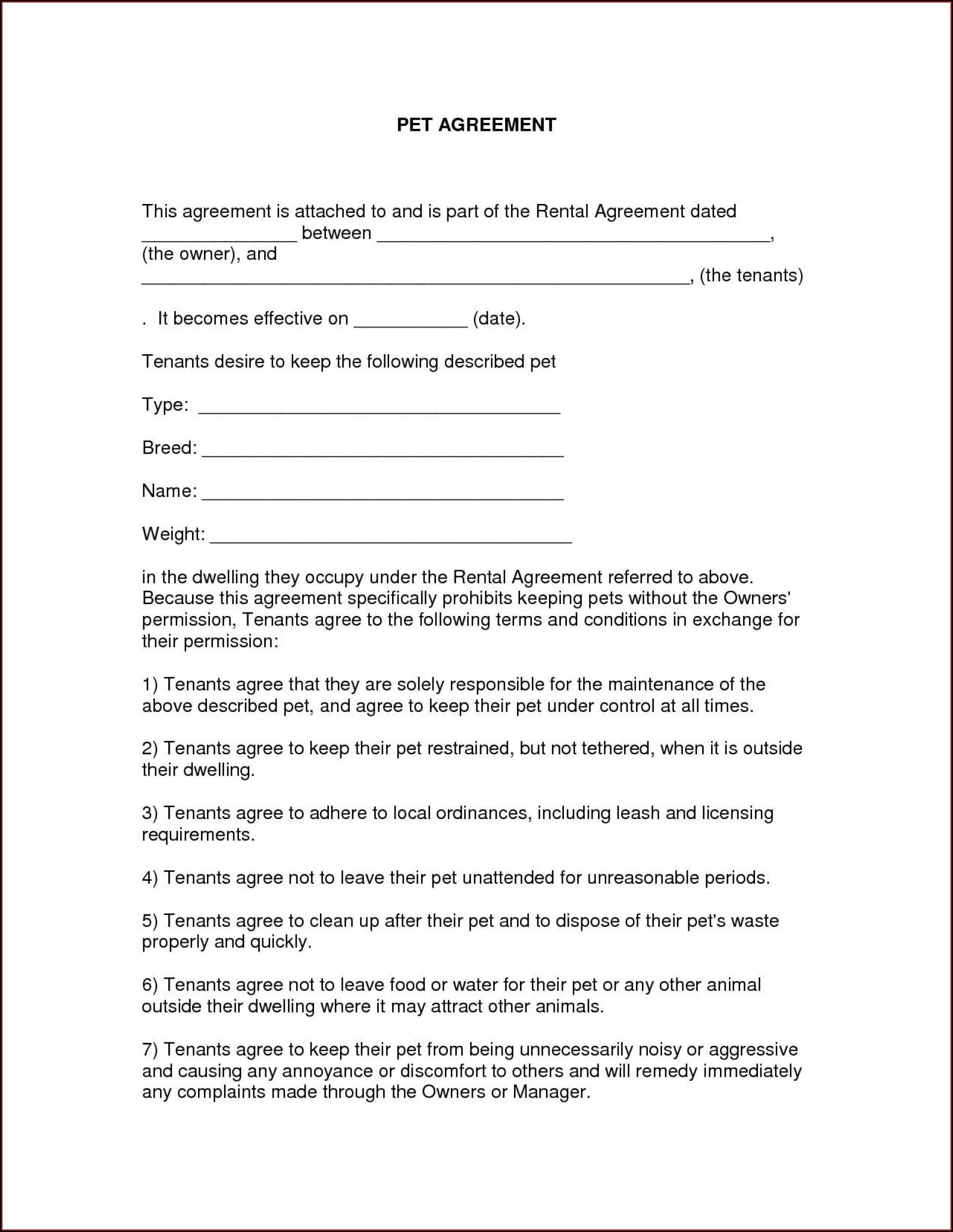 Template Free Printable Free Rental Agreement Pdf