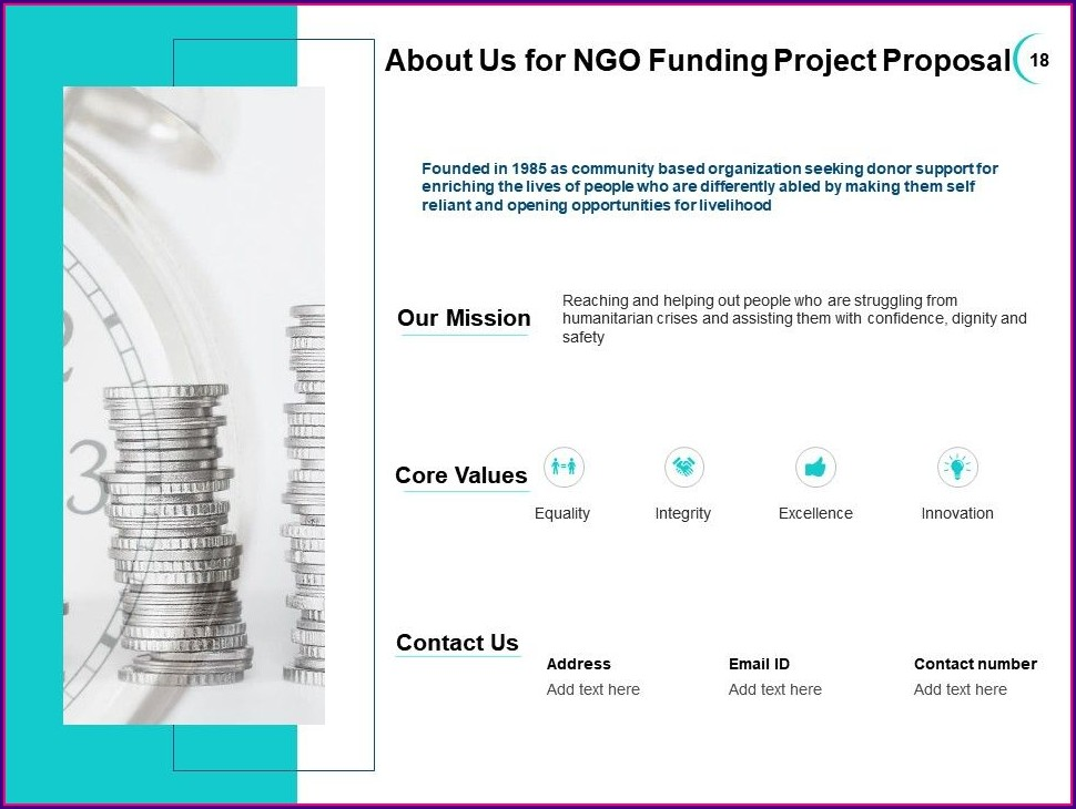 Template Ngo Project Proposal Sample
