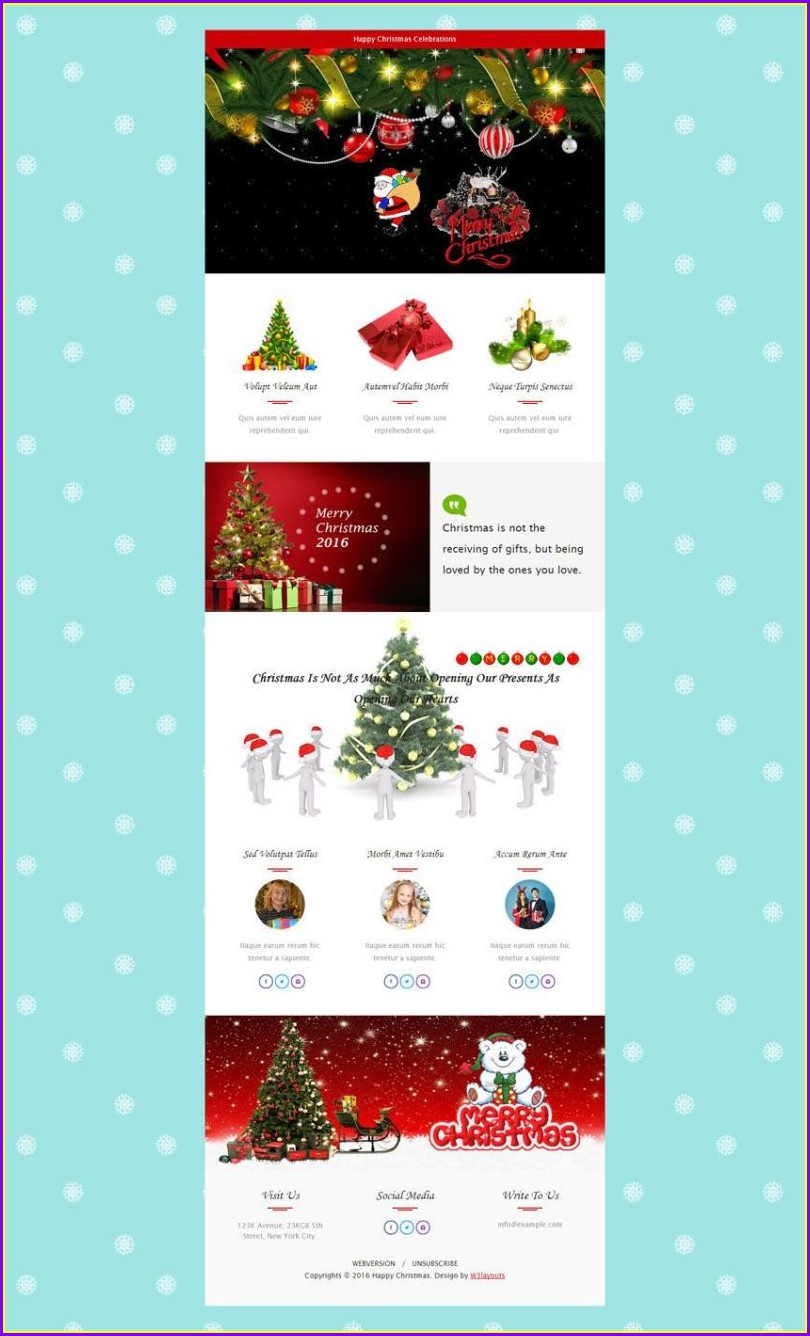 Templates Free Missionary Newsletter Templates