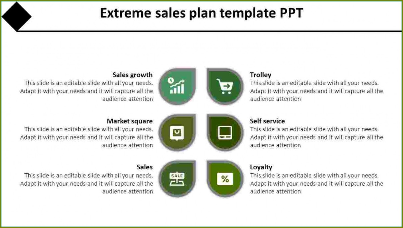 Territory Planning Sales Territory Plan Template