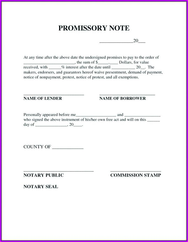 Texas Notary Seal Template