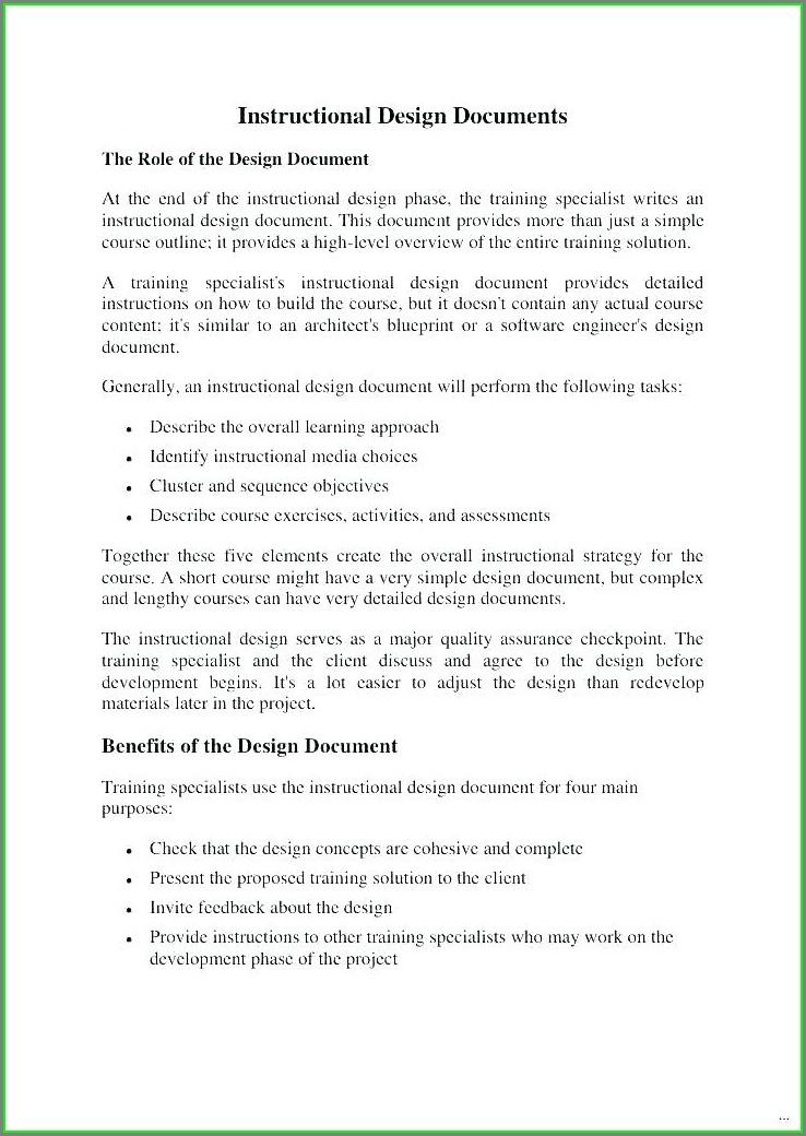 Training Document Employee Training Manual Template Word
