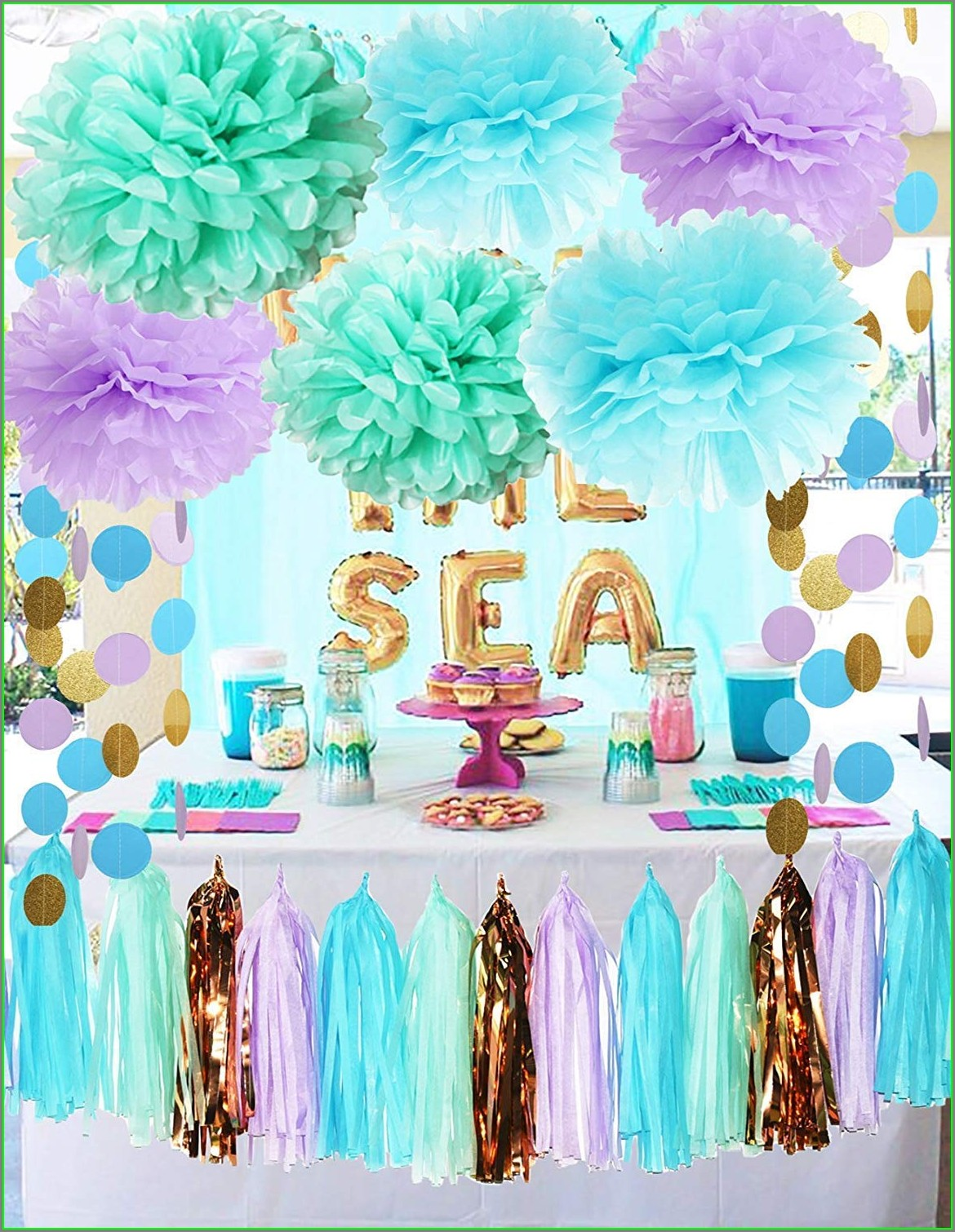 Under The Sea Theme Invitation Template