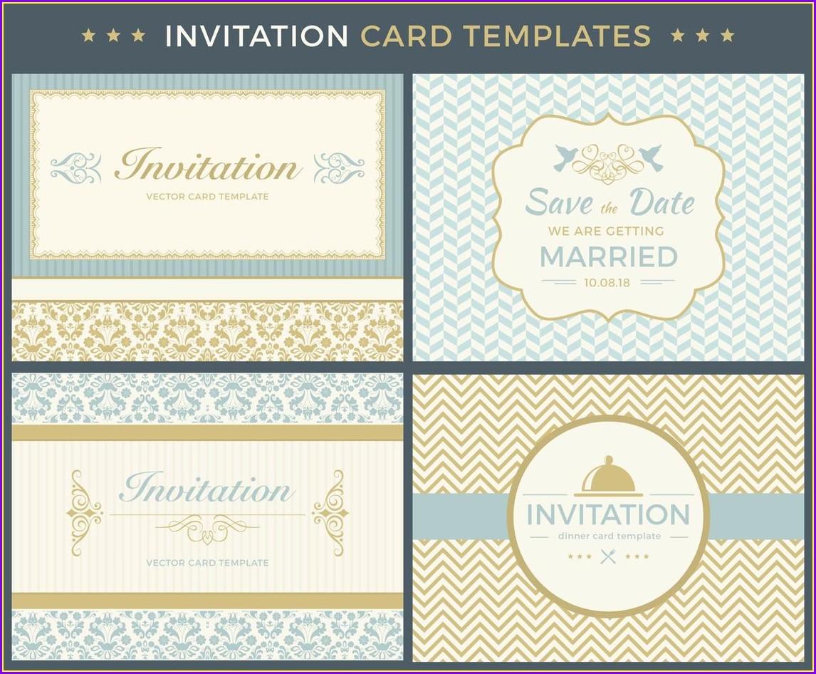 Vintage Invitation Templates